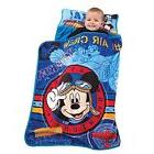 Disney Mickey Mouse Toddler Sleeping Bag Travel Rolled Nap M