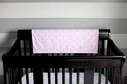 "Kids Baby Blanket 30"" x 40"" Pink - Swaddle - Crib Nursery, Security Layer"