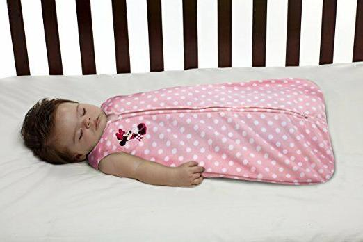 minnie mouse baby wearable blanket pijama pink