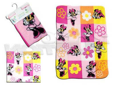 minnie mouse fleece printed baby