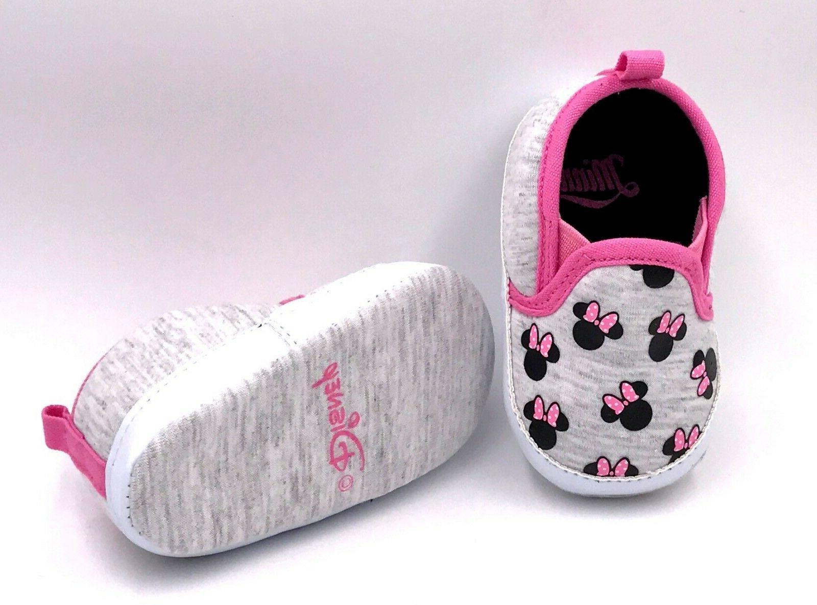 Girls Infant Prewalker Soft Sole Crib