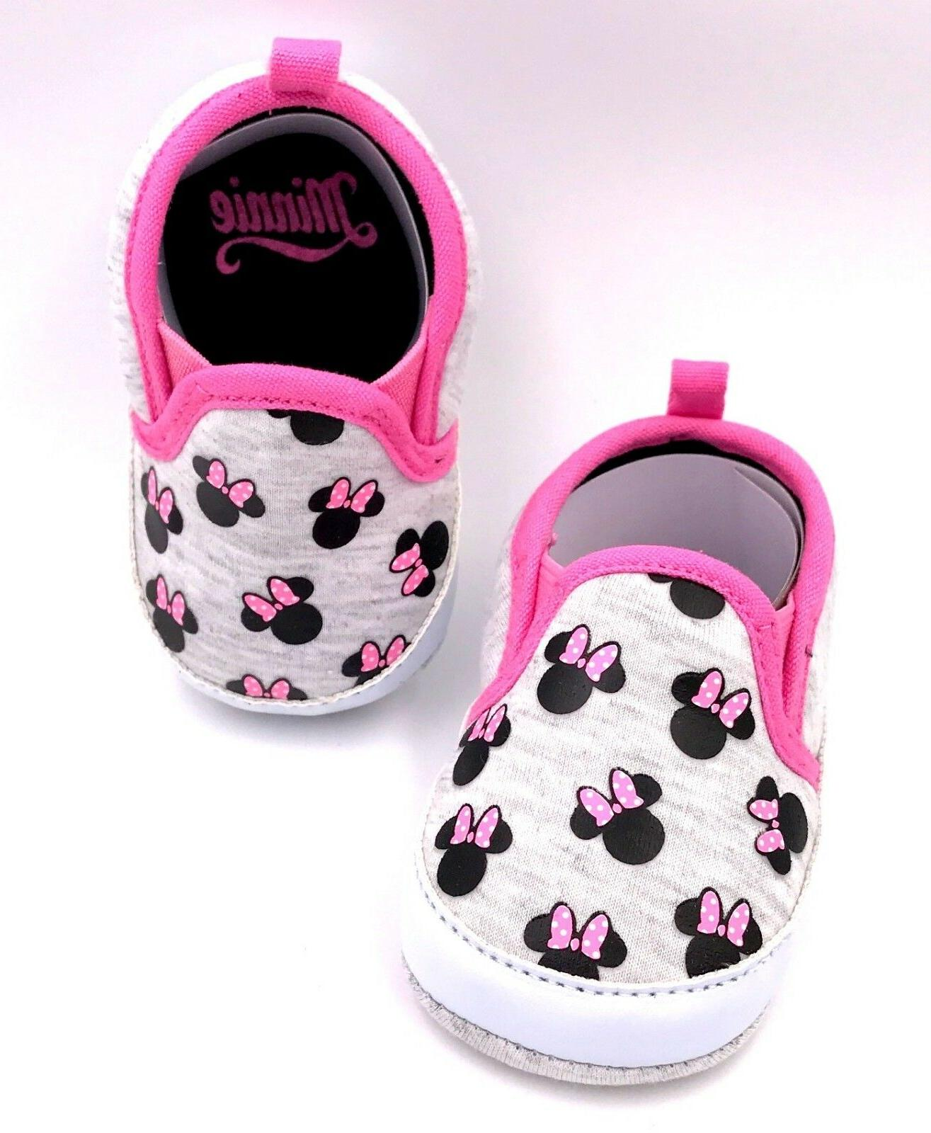 minnie mouse girls newborn infant prewalker soft