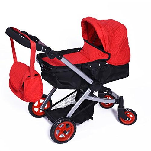 modern bassinet stroller quilted fabric