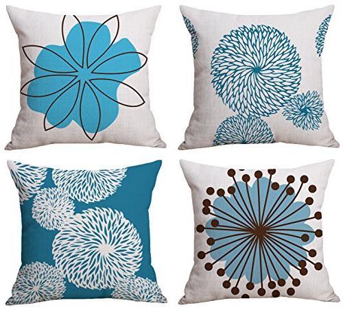 modern simple geometric cotton linen