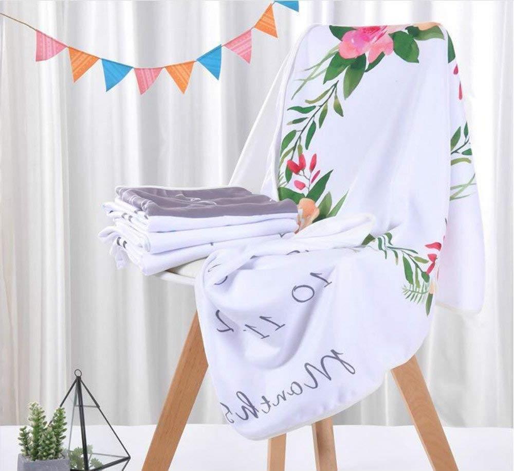 Monthly Milestone Blanket, Show Gift Baby