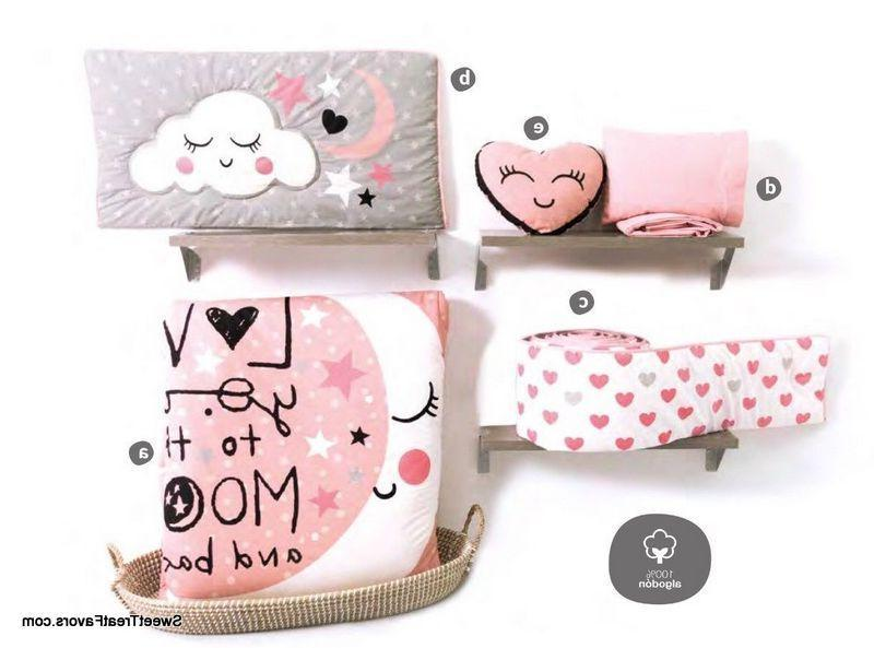 Moon GIRL Pink SET BABY Shower Gift COTTON