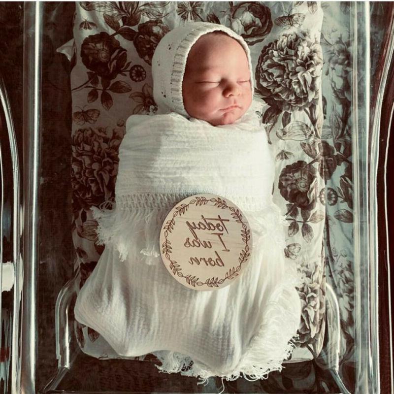 Muslin Newborn Solid Tassels Baby Swaddle Blanket Sleeping Receiving