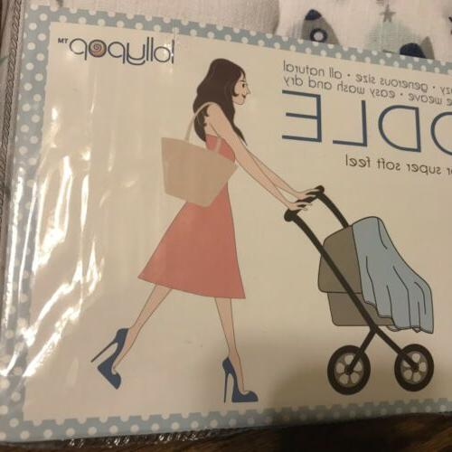 Lollypop *3 Swaddle Blue