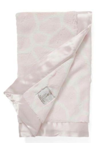 new 90 luxe giraffe print baby blanket