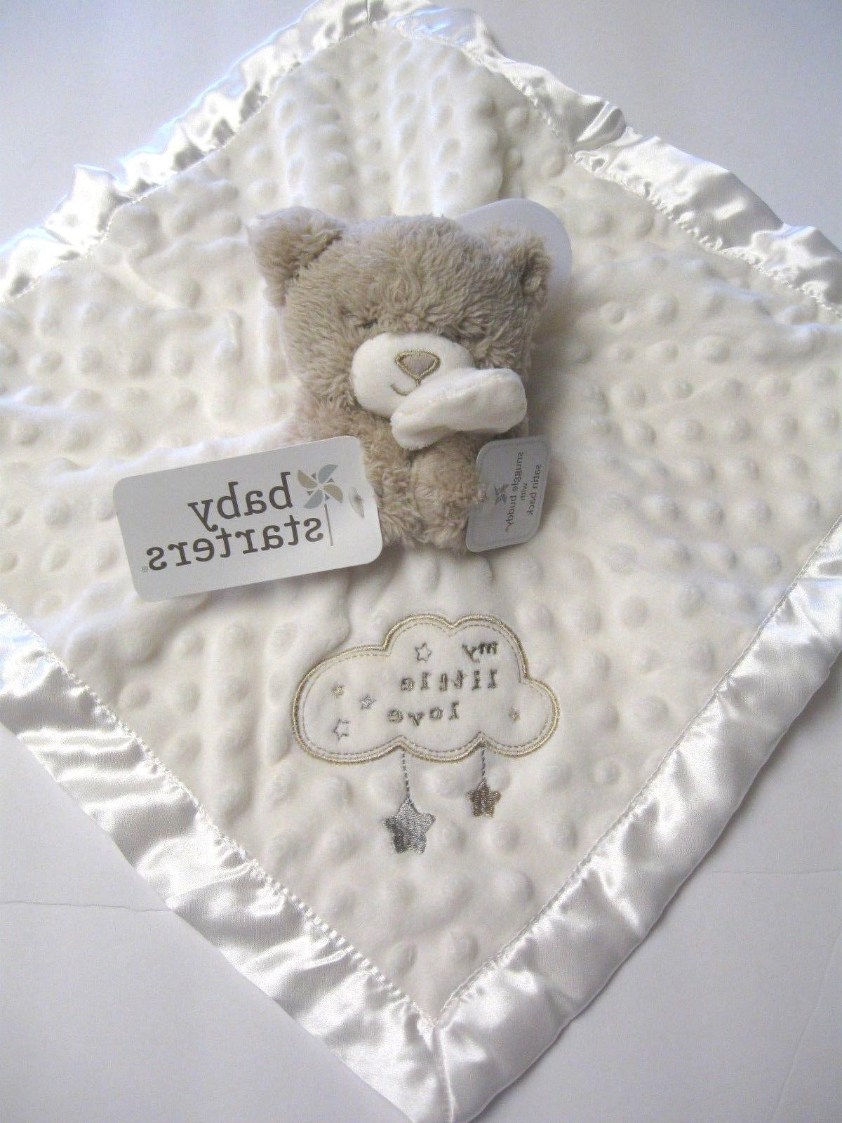 new bear security blanket with dots my