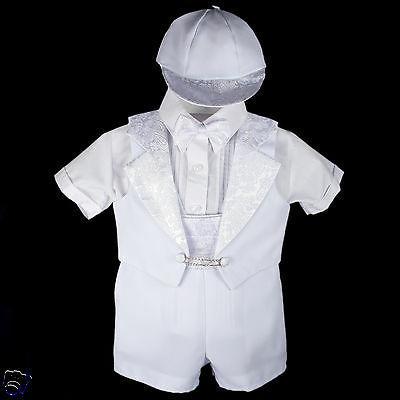 New Baby Infant Tuxedo 0-5