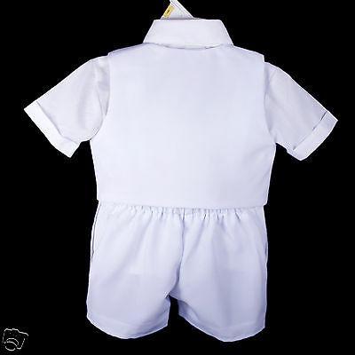 New Born Boy Infant Christening Formal Tuxedo 0-5