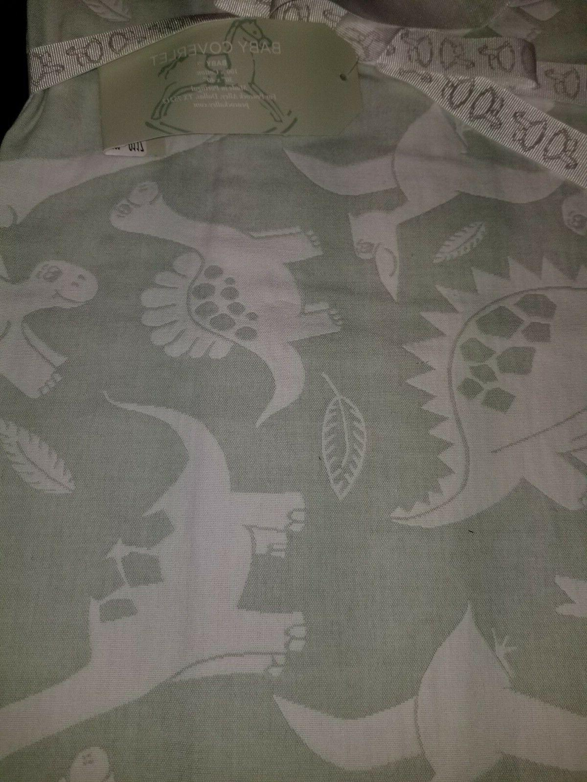 NEW PEACOCK ALLEY BABY BLANKET