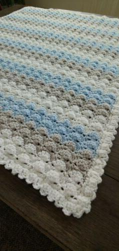 new farmhouse baby white pastel blue gray