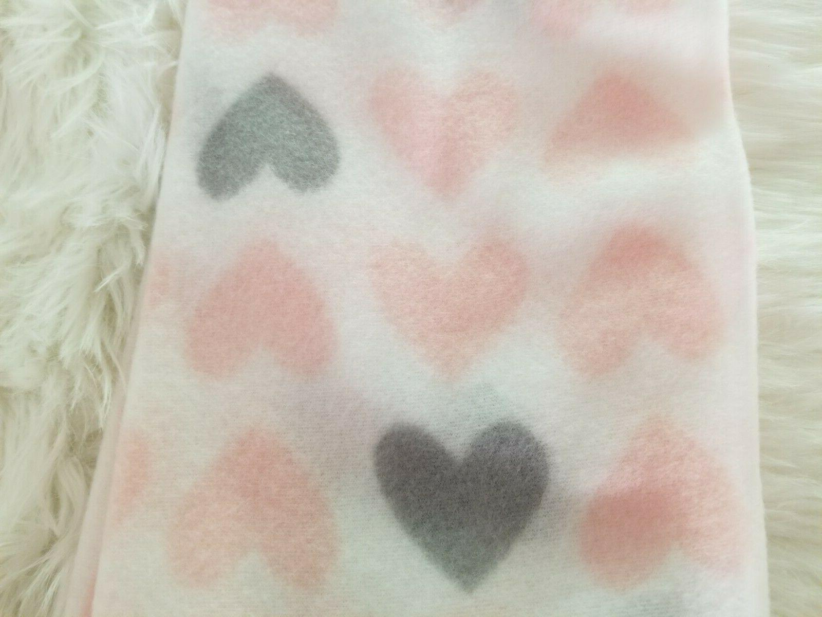 "Fleece Baby 30""x30"" - Blue Hearts,"