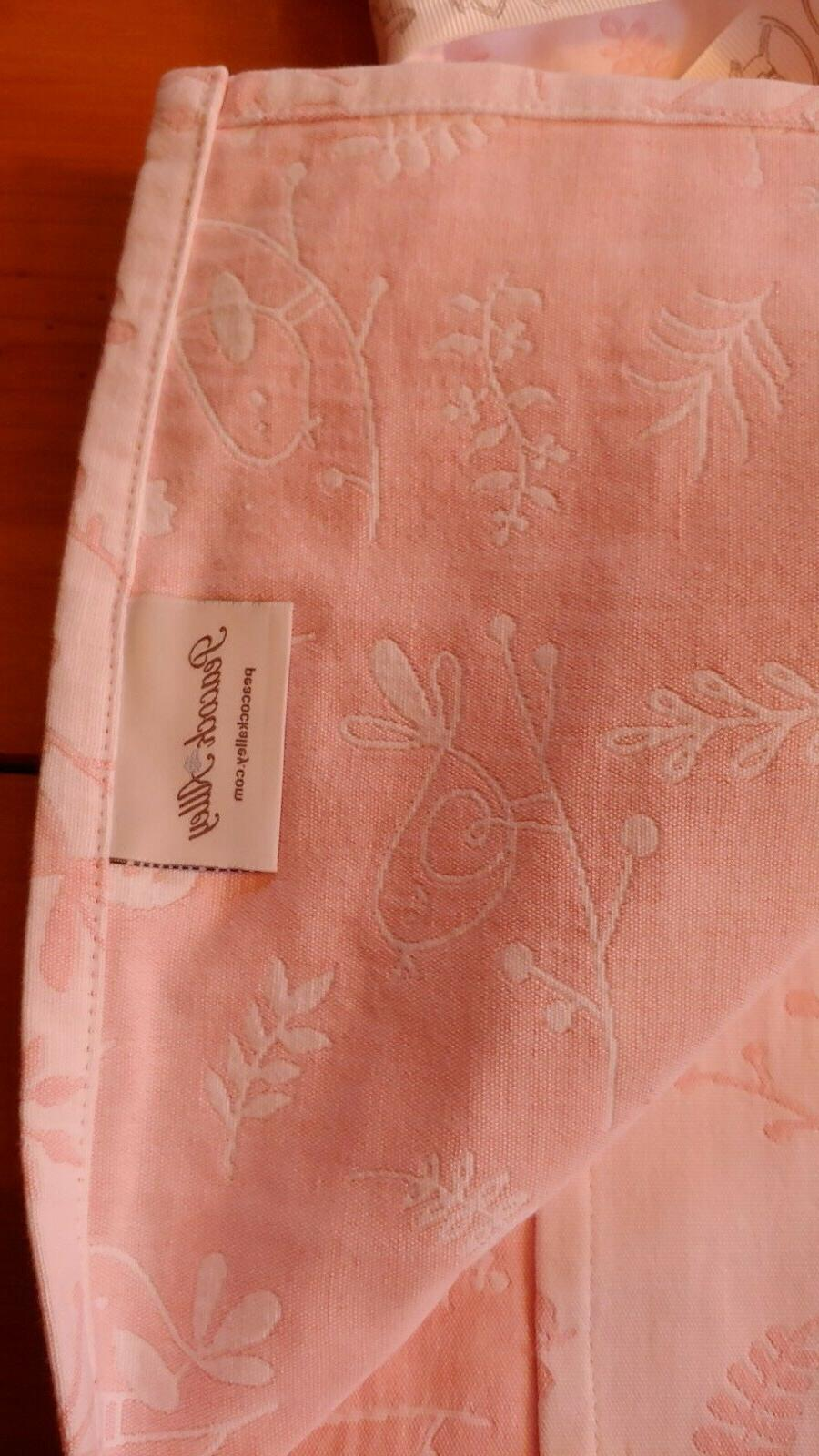 NEW Baby Blanket Birds 100% Cotton x