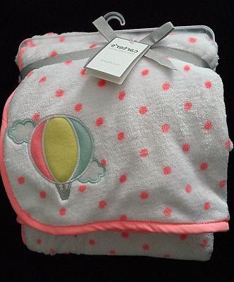 new nwt carter s cozy blanket plush