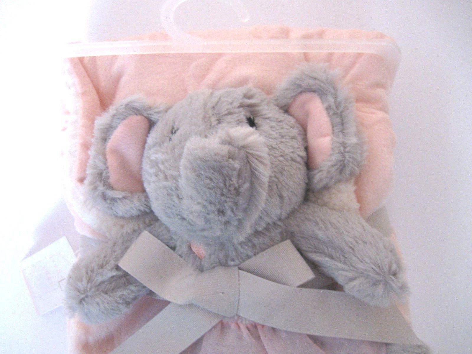 new plush blanket set elephant toy sherpa
