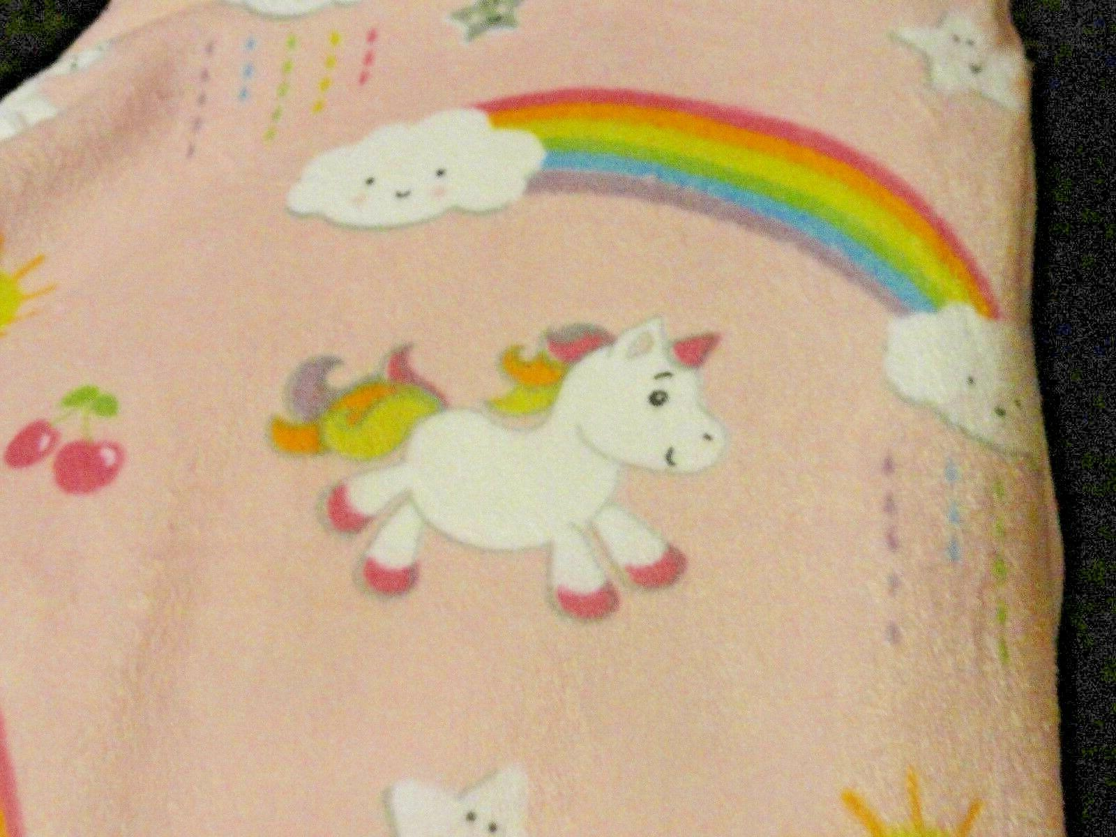 "new soft~PLUSH RAINBOWS~UNICORNS 28"" 32"""