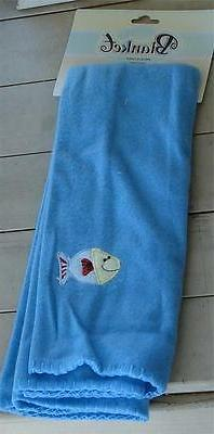 """NEW WITH TAGS 28"""" by 28"""" Fleece Baby Receiving Blanket, 100%"""
