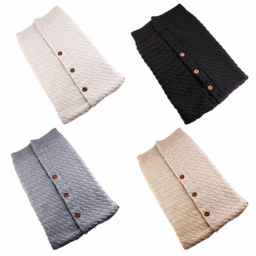 Newborn Crochet Swaddle Sleeping Bag Stroller Wrap Sleepsacks