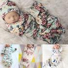 Newborn Baby Boy Girl Infant Swaddle Wrap Swaddling Blanket