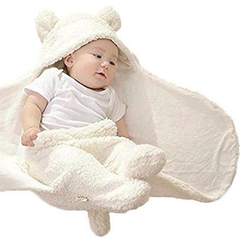 Newborn Babys Receiving Blanket Girl