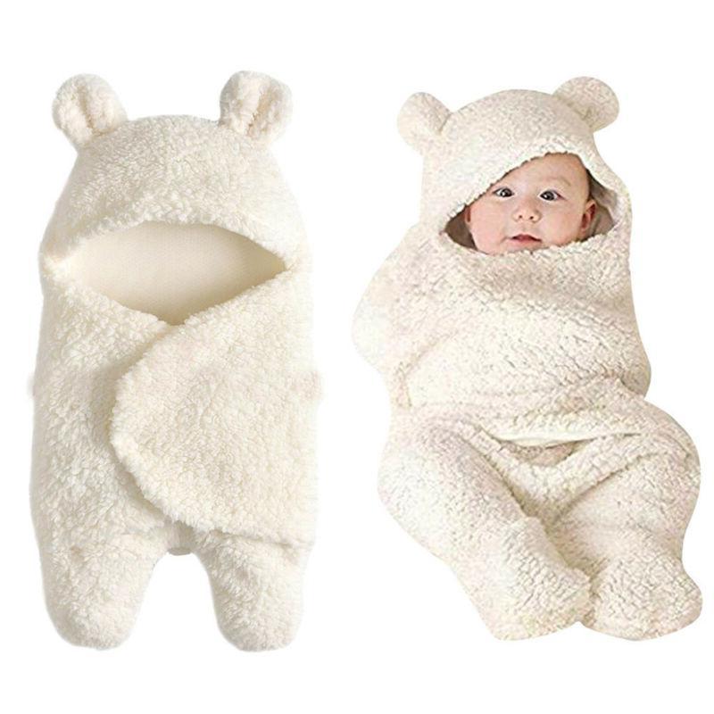 Newborn Toddler Babys Cotton Receiving