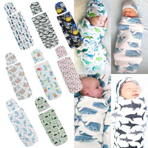 Baby Boy Girl Blanket Swaddle Newborn Muslin Wrap Toddler Sl