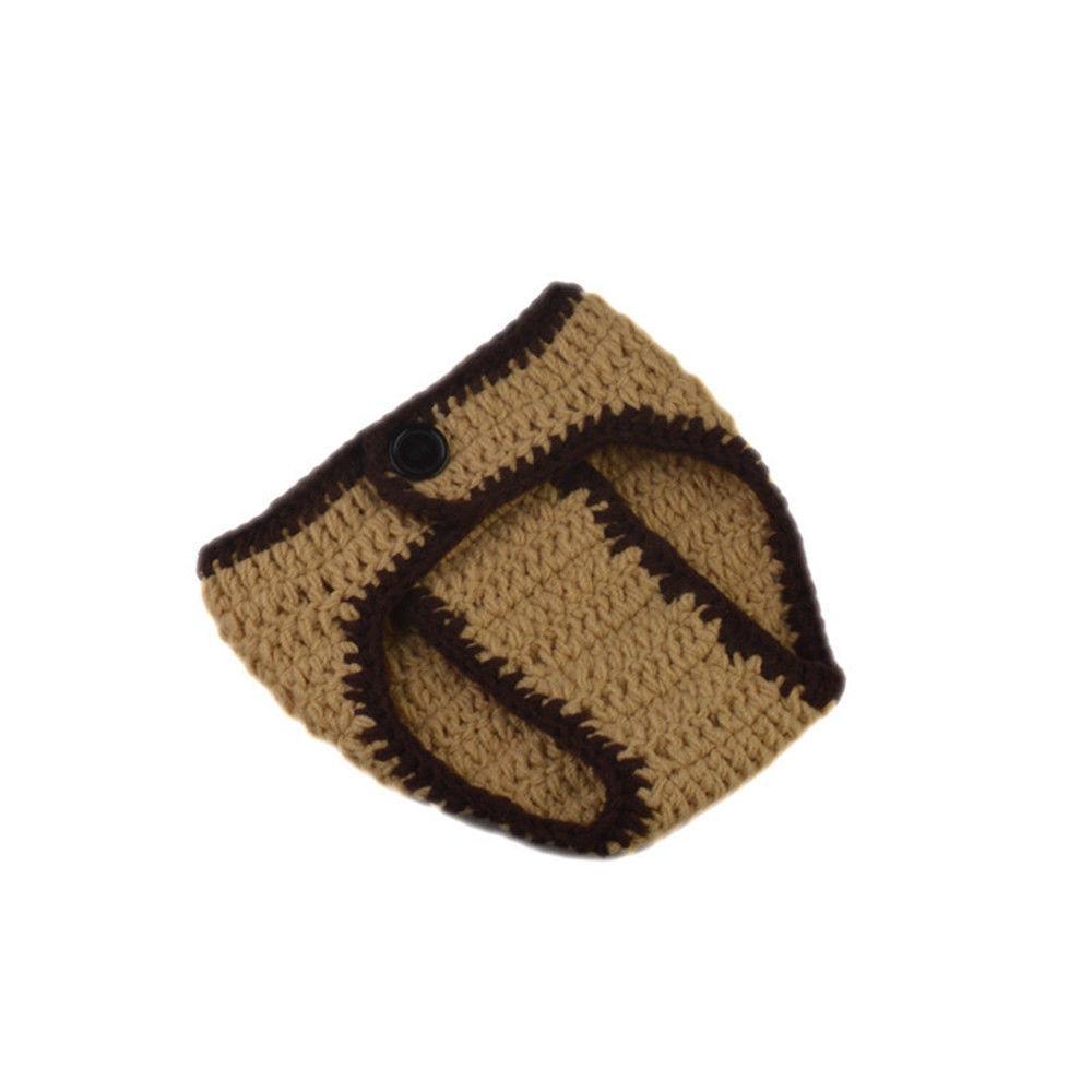 Newborn Crochet Knit Costume Photography Prop