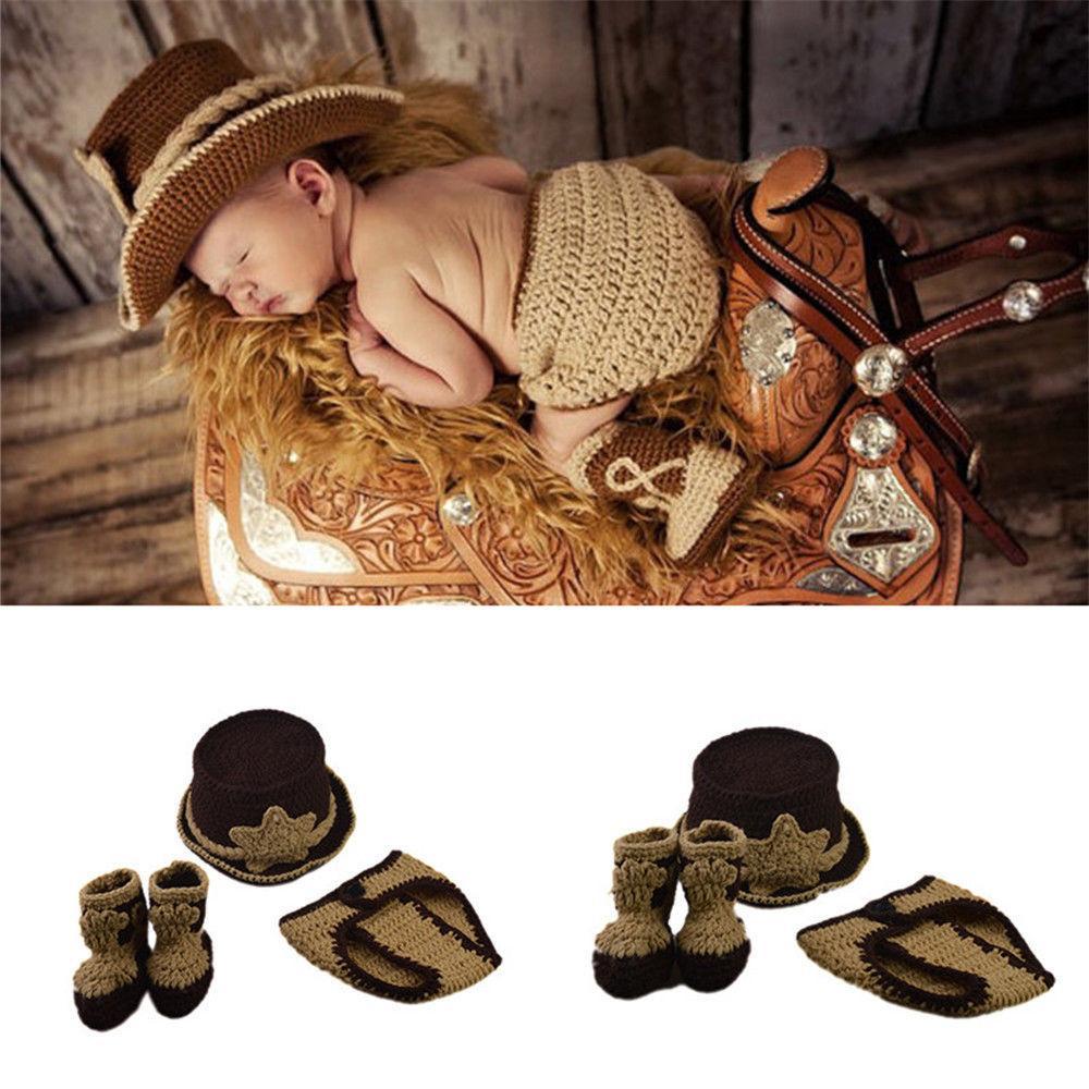 Newborn Crochet Knit Photography