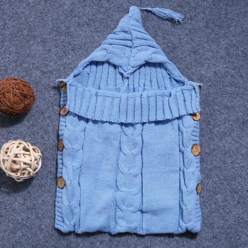 Knit Swaddling Sleeping Bag