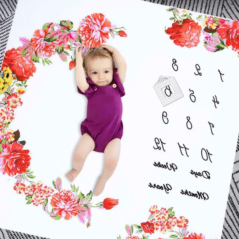 Infant Monthly Milestone Photography Background