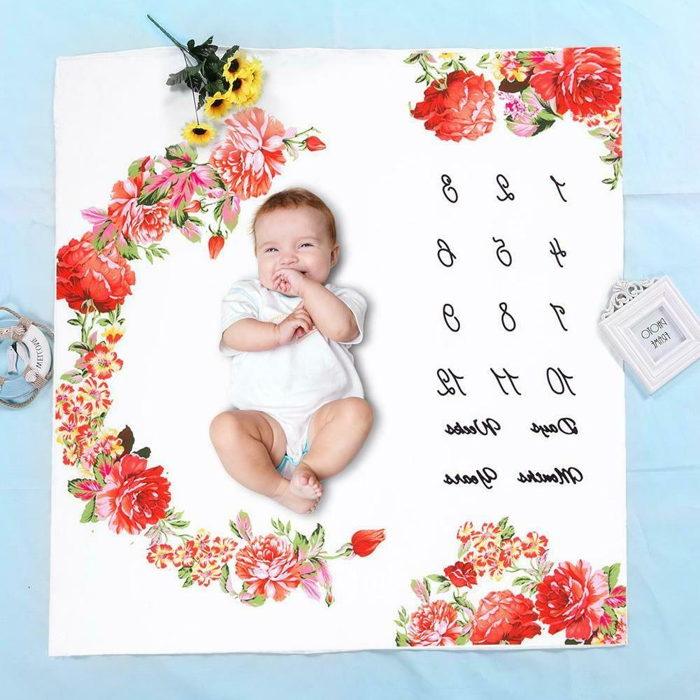 Infant Milestone Background Cloth