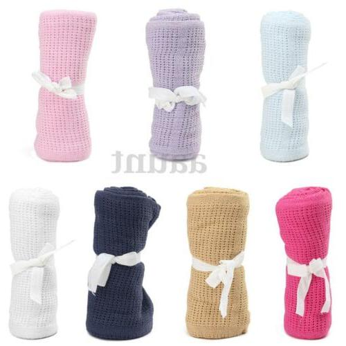 Newborn Baby Soft Cotton Banklet Swaddling