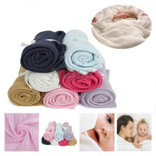 Newborn Baby Soft Nursery Swaddling US
