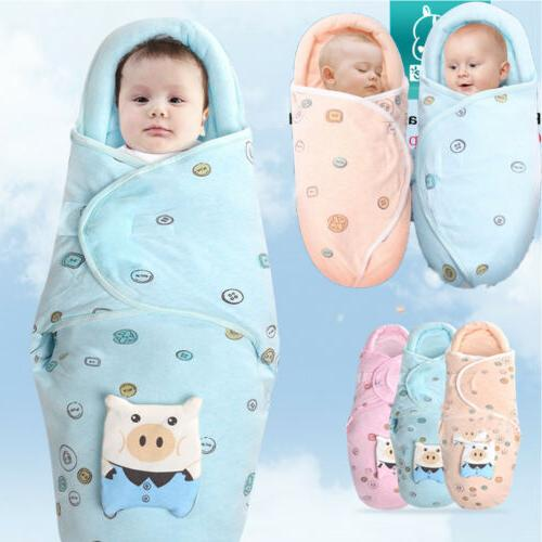 Baby Sleeping Bag Newborn Soft Blanket Sleep Sack Wrap Beddi