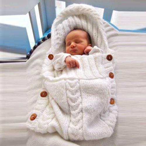 Newborn Girl Blanket Crochet Bag