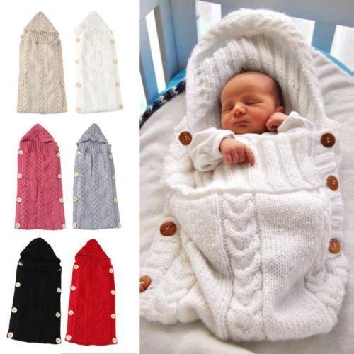 newborn infant baby boy girl blanket knit