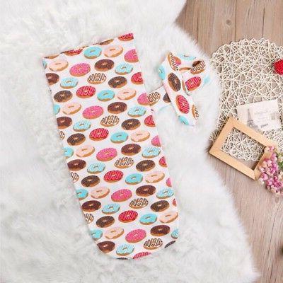 Infant Swaddle Blanket Warm Newborn Muslin