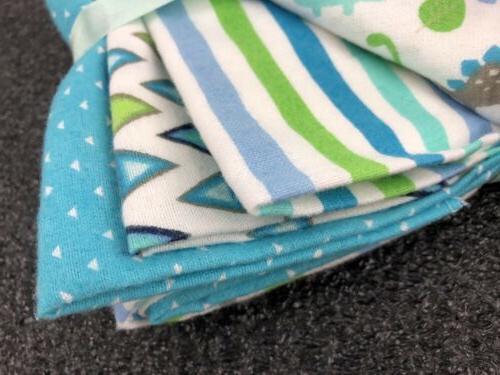 Newborn Baby Blankets 4-Packs 100% Cotton