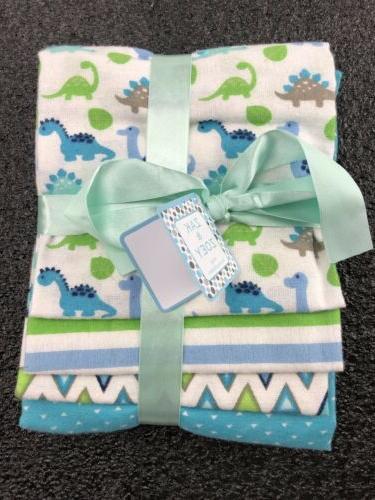 newborn infant baby receiving blankets 4 packs