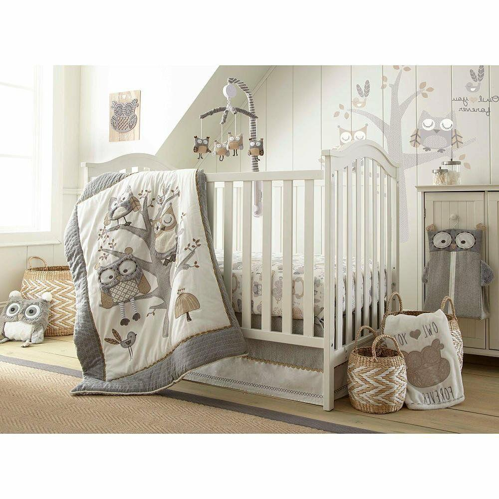 Levtex Baby Night Owl 5 Piece Crib Bedding