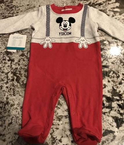 nwt baby boy 1 piece mickey mouse