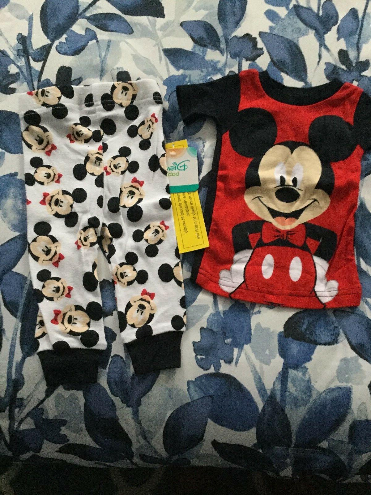 nwt baby boy mickey mouse pj s