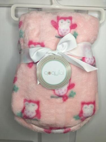NWT Baby Girls Owl Theme Plush Lollypop