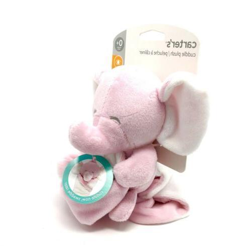 NWT Carter's Plush Elephant Blanket Baby Lovey