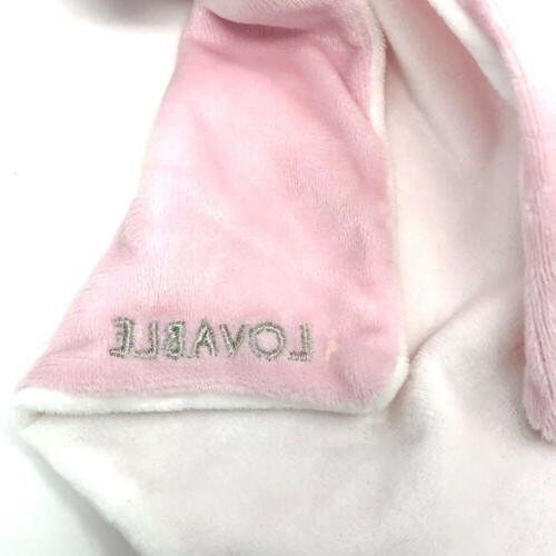 NWT Pink Plush Elephant Blanket