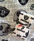 Oakland Raiders NFL Football Baby Burp Cloth & Fleece Blanke