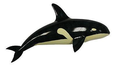Orca Killer Whale Under the Ocean Animal 12 Inch Kid Room Ba